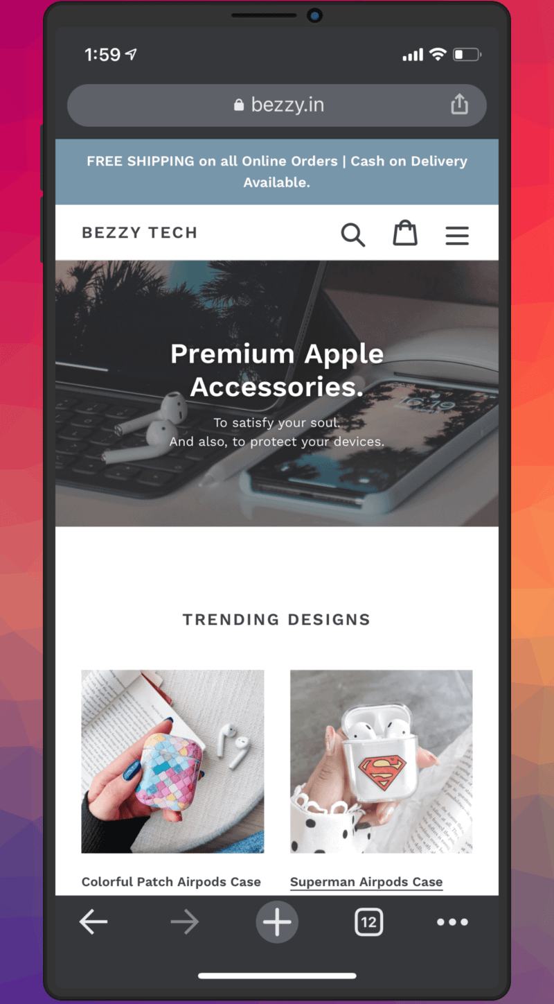 All-In-One Shop for Apple Accessories